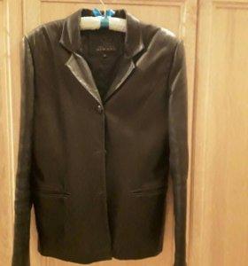 Пиджак нат.кожа