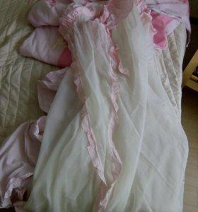 Набор в кровать для новорожденных