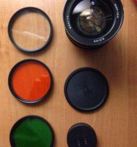 Мир 10-А 28mm f/3.5
