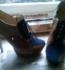 Туфли-сапожки