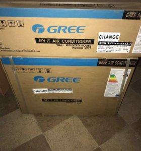 Новый кондиционер gree GWH12KF-K3DNA5A