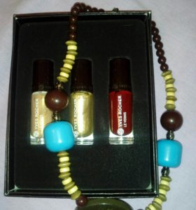 Набор лаков + подарок yves rocher