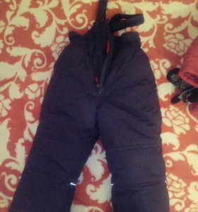 Куртка зимняя и комбинезон