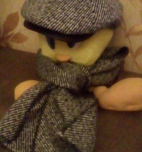 Кепка и шарф