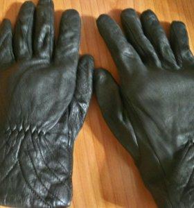 Кожаные перчатки 8,5