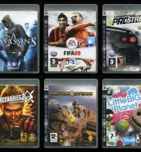 7 дисков, игры для Sony PlayStation 3