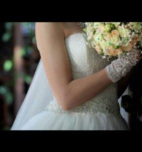 Свадебное колекционное платье
