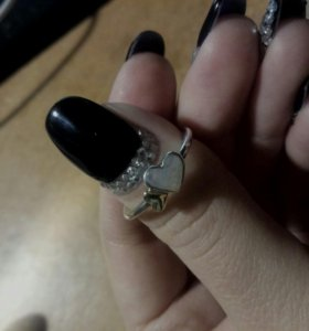"""Кольцо Рandora """"Светящиеся сердца"""""""