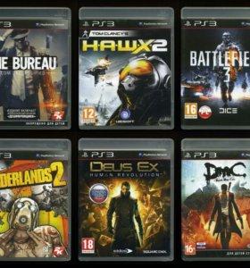 16 дисков, игры для Sony PlayStation 3