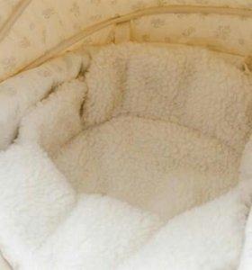 Коляска для новорожденных зима-лето