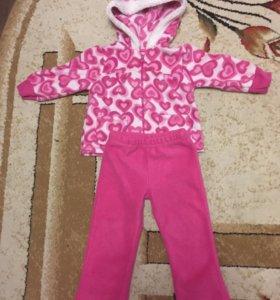 Флисовый костюм 80-86