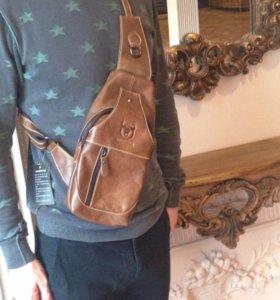 Сумка-Рюкзак через плечо(кабура, городской рюкзак)