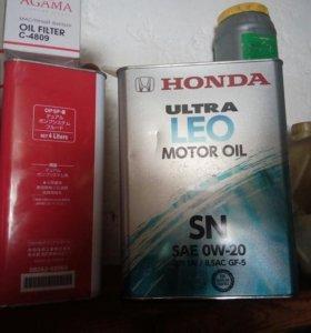 Масло хонда 0w20