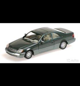 Minichamps 1992 Mercedes-Benz 600 SEC Coupe (C140)