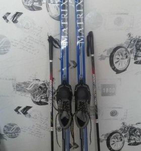 Беговые,детские лыжи