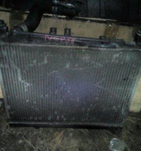 Радиатор двигателя Toyota Succeed кузов NCP58G