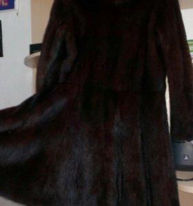 Шуба норковая ,фасон юбка