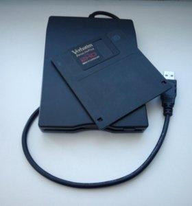 Внешний считыватель дискет (USB)