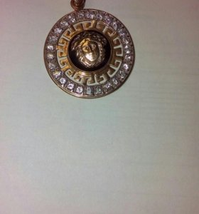 Золотой Кулон Versace