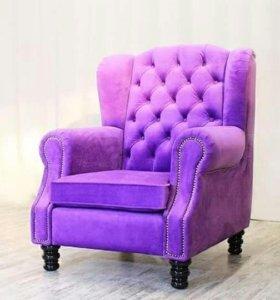Обитые стулья