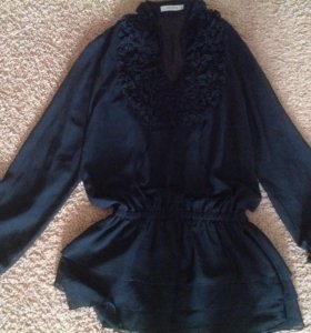 Шикарная блузка - туника новая