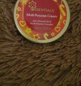 Крем для лица и тела с маслом миндаля