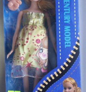 Барби беременная кукла новая