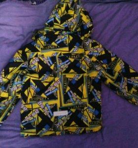Куртка демисезонная р.110