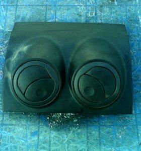 Накладка дефлектора на Шевролет Авео 250