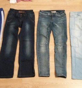 3 Джинс и спортивные брюки