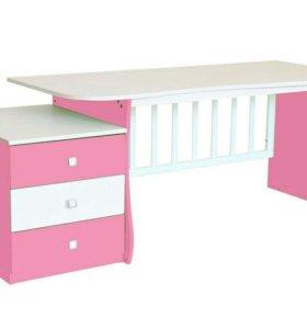 Детская кровать+писменный стол