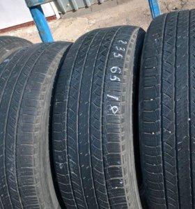 4 б/у шины 235/65 18 Michelin.latitude tour