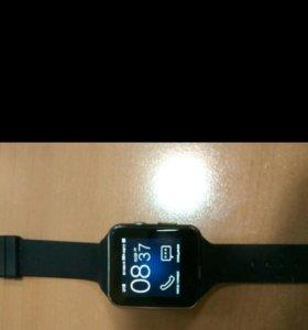 X6 Bluetooth Smart Watch часы с камерой. Новые