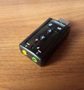 Звуковой адаптер для ноутбука