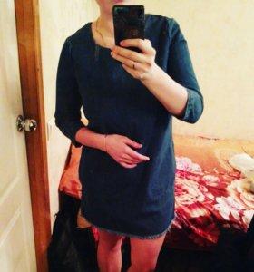 Новое джинсовое платье Ostin 44-46р