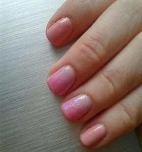 Покрытие ногтей shellak гелем