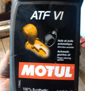 Масло в АКПП MOTUL ATF 6