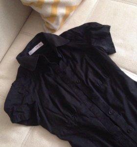 Черная блузка женская