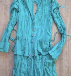 Пиджак жакет накидка костюм женский новый 36