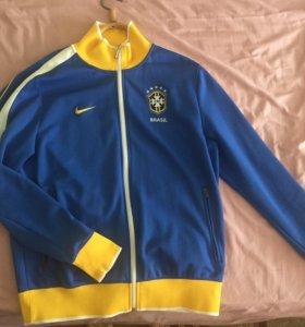 Кофта Nike Brasil олимпийка спортивная кофта