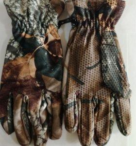 Перчатки охотничьи Puissant цвет лес