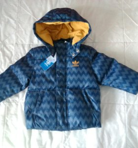 Новые куртка и полукомбинезоны adidas