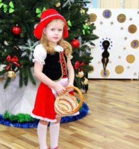 "Новогодний костюм ""Красная шапочка """
