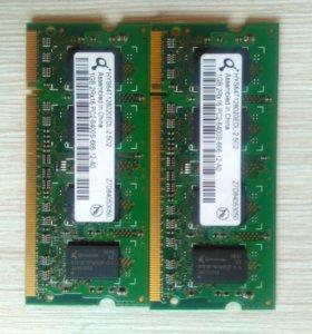 Оперативная память для ноутбука ddr2