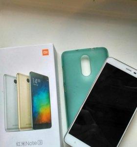 Xiaomi redmi note 3 silver 32gb