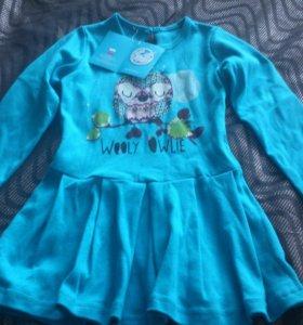 Детские новые платья 104