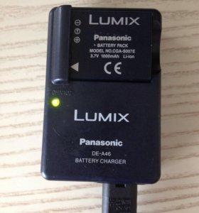 Зарядка и аккумулятор Panasonic LUMIX