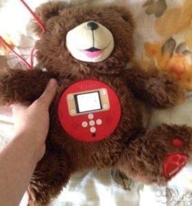Мягкая игрушка Teddy со встроеным экраном