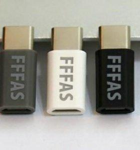 Переходник micro USB на USB type C