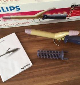 Электрощипцы Philips для завивки волос